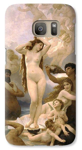 Birth Of Venus Galaxy S7 Case by William Bouguereau
