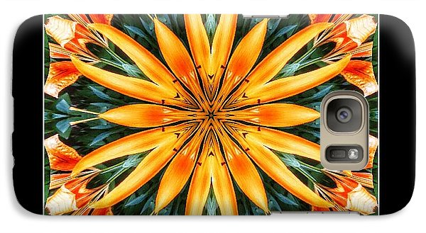 Birthday Lily For Erin Galaxy S7 Case by Nick Heap