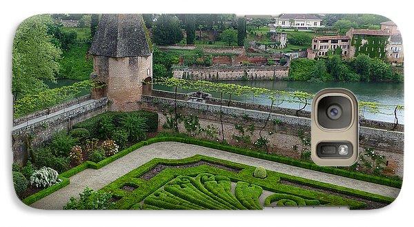 Galaxy Case featuring the photograph Bishop Garden In Albi France by Susan Alvaro