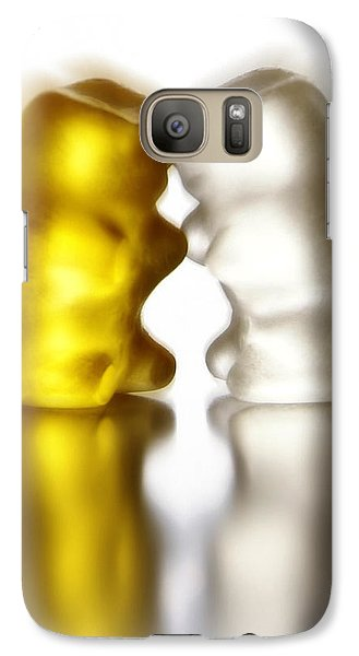 Galaxy Case featuring the photograph Bisounounours by Selke Boris