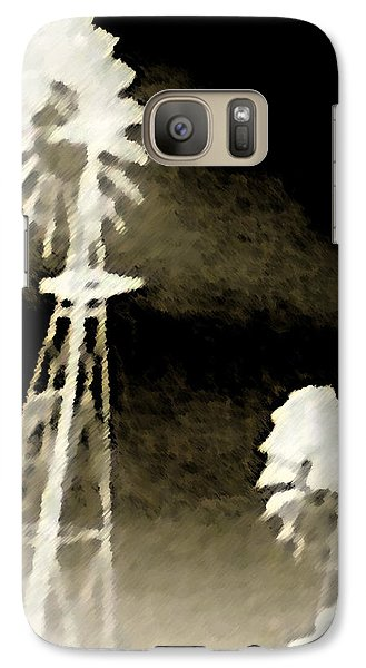 Galaxy Case featuring the photograph Bits Of Dust In The Wind by Max Mullins