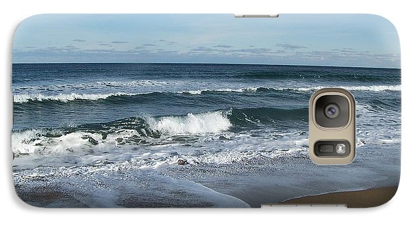 Galaxy Case featuring the photograph Winter Beach  by Eunice Miller