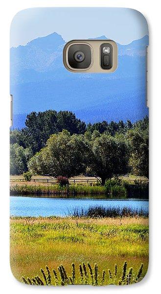 Galaxy Case featuring the photograph Bitterroot Valley Montana by Joseph J Stevens