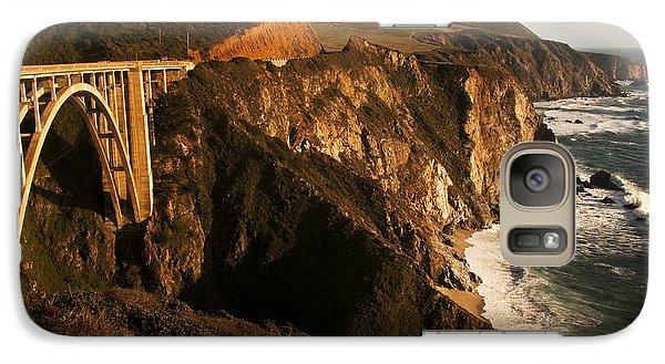 Galaxy Case featuring the photograph Bixby Bridge by Lee Kirchhevel
