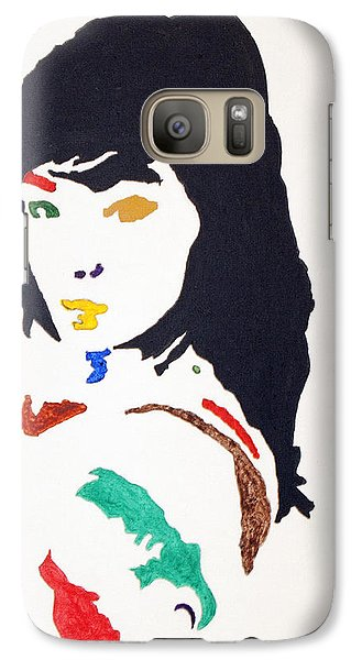 Galaxy Case featuring the painting Bjork by Stormm Bradshaw