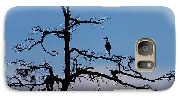 Galaxy Case featuring the photograph Black And Blue  by Alan Raasch