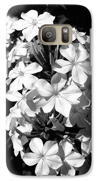 Galaxy Case featuring the photograph Black And White Beauty by Alohi Fujimoto
