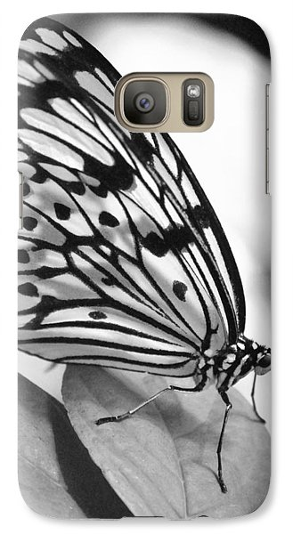 Galaxy Case featuring the photograph Black And White Beauty by Amee Cave