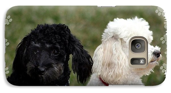 Galaxy Case featuring the photograph Black And White by Ellen O'Reilly