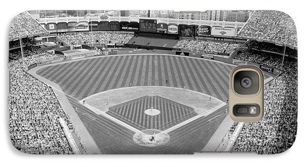Black And White Yankee Stadium Galaxy S7 Case
