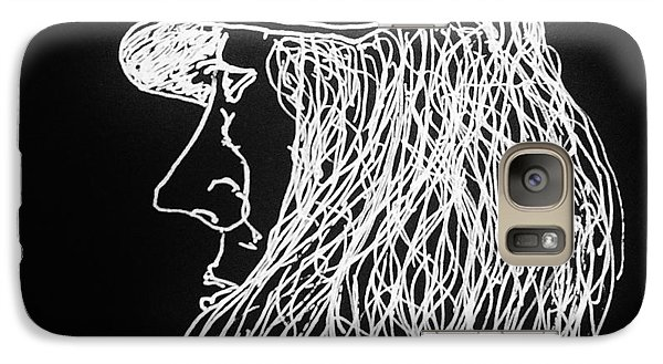 Galaxy Case featuring the painting Black Book 06 by Rand Swift
