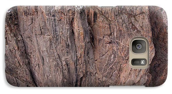 Galaxy Case featuring the photograph Black Canyon Chasm View by Eric Rundle