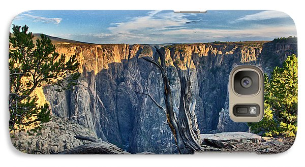 Galaxy Case featuring the photograph Black Canyon Fading Light by Eric Rundle