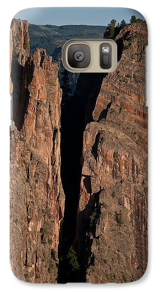 Galaxy Case featuring the photograph Black Canyon Island View  by Eric Rundle