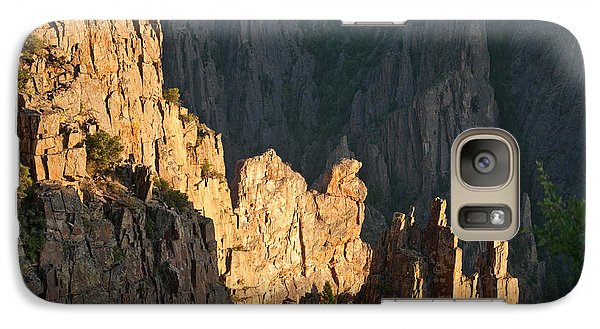 Galaxy Case featuring the photograph Black Canyon Sitting Camel  by Eric Rundle