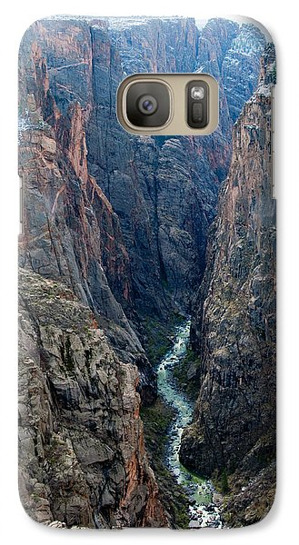 Galaxy Case featuring the photograph Black Canyon The River  by Eric Rundle