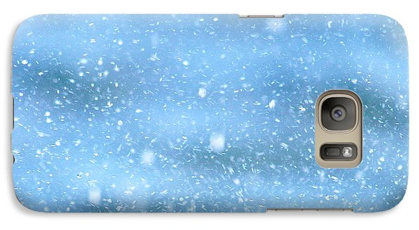 Galaxy Case featuring the photograph Black Crab In The Blue Ocean Spray by Lehua Pekelo-Stearns