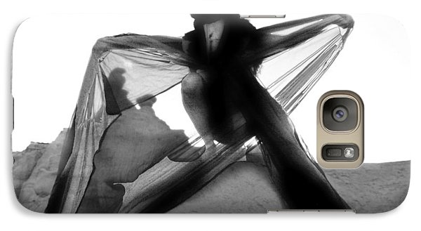 Galaxy Case featuring the photograph Black Crow 1 by Tarey Potter