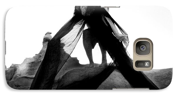 Galaxy Case featuring the photograph Black Crow 2 by Tarey Potter