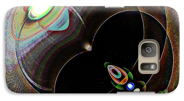 Galaxy Case featuring the photograph Black Eye by Samuel Sheats