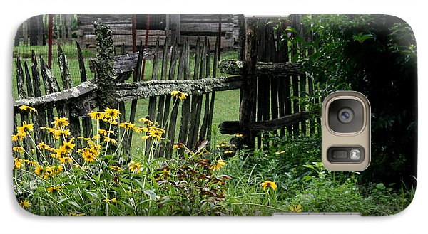 Galaxy Case featuring the photograph Black-eyed Susans by Cathy Harper