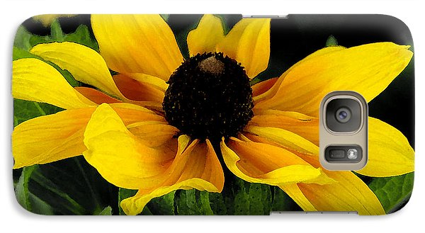 Galaxy Case featuring the photograph Black Eyed Susan  by James C Thomas