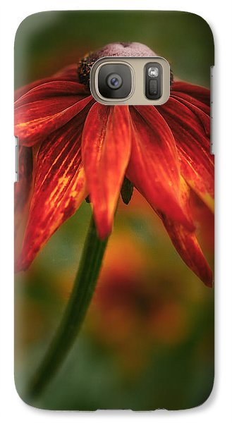 Galaxy Case featuring the photograph Black-eyed Susan by Jacqui Boonstra