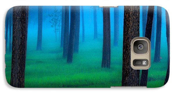 Fantasy Galaxy S7 Case - Black Hills Forest by Kadek Susanto