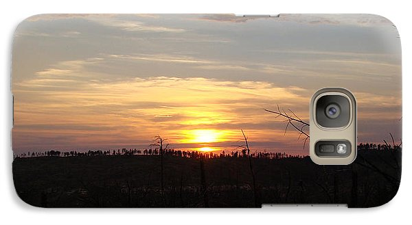 Galaxy Case featuring the photograph Black Hills Sunset IIi by Cathy Anderson