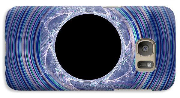 Galaxy Case featuring the digital art Black Hole by Victoria Harrington