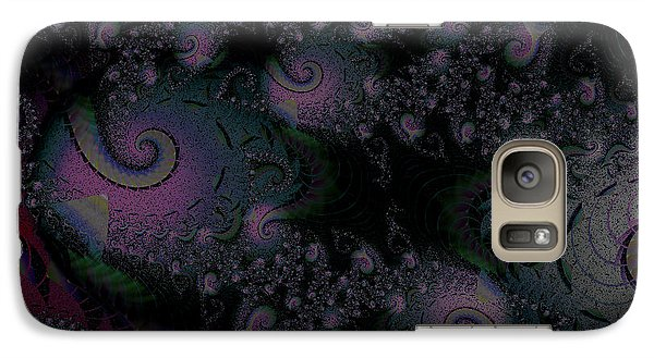 Galaxy Case featuring the digital art Black Light Reveal by Elizabeth McTaggart