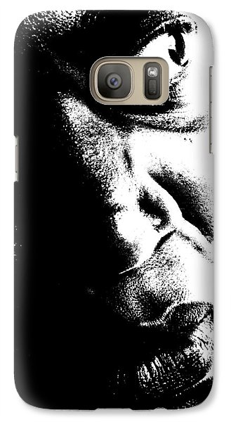Galaxy Case featuring the photograph Black Miracle Portrait 12 by Cleaster Cotton