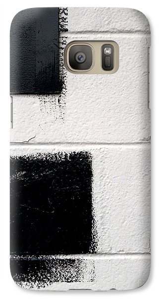 Galaxy Case featuring the photograph Black On White by Robert Riordan