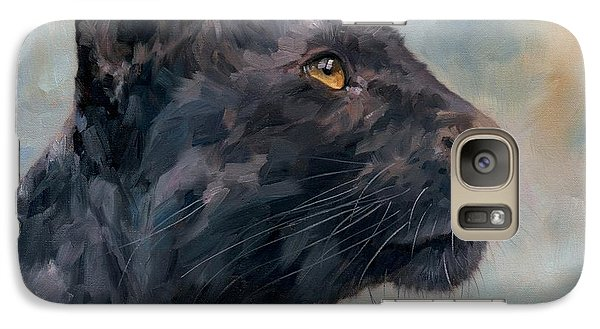 Black Panther Galaxy Case by David Stribbling