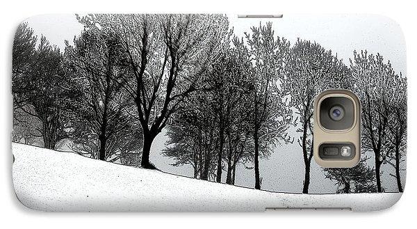 Galaxy Case featuring the photograph Black Trees by Randi Grace Nilsberg