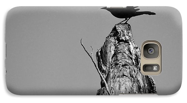 Galaxy Case featuring the photograph Blackbird by David Mckinney