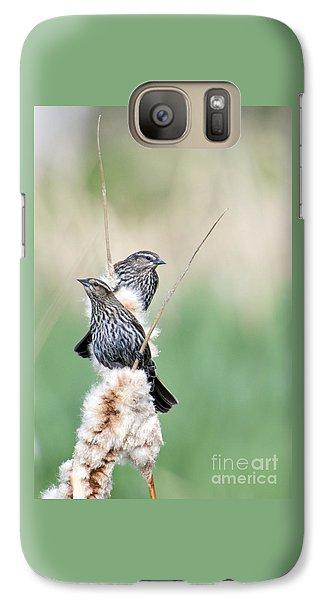 Blackbird Pair Galaxy S7 Case by Mike  Dawson