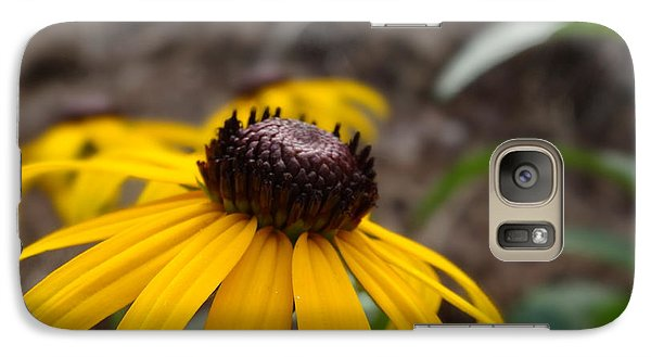 Galaxy Case featuring the photograph Blackeyed Susan by Alan Lakin