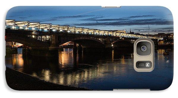 Galaxy Case featuring the photograph Blackfriars Bridge - London U K by Georgia Mizuleva