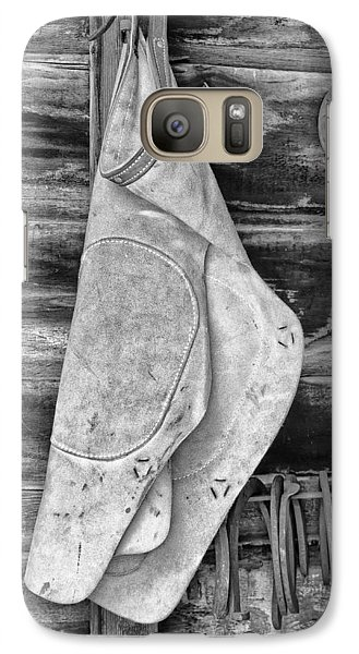 Galaxy Case featuring the photograph Blacksmith Equipment by Gary Slawsky