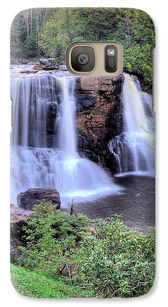Galaxy Case featuring the photograph Blackwater Falls by Gordon Elwell