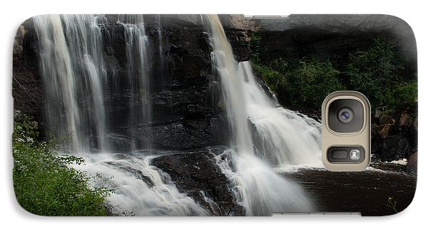 Galaxy Case featuring the photograph Blackwater Falls - Wat 320 by G L Sarti