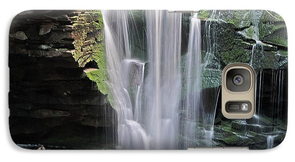 Galaxy Case featuring the photograph Blackwater Falls - Wat324-4 by G L Sarti