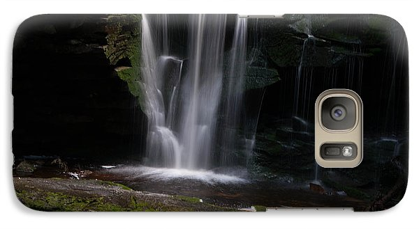 Galaxy Case featuring the photograph Blackwater Falls - Wat325-2 by G L Sarti