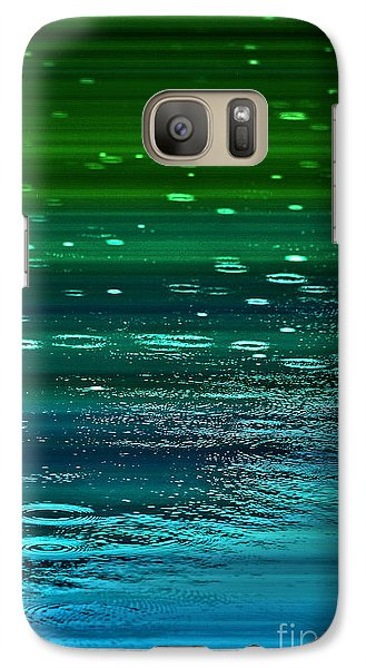 Galaxy Case featuring the photograph Blame It On The Rain by Cynthia Lagoudakis