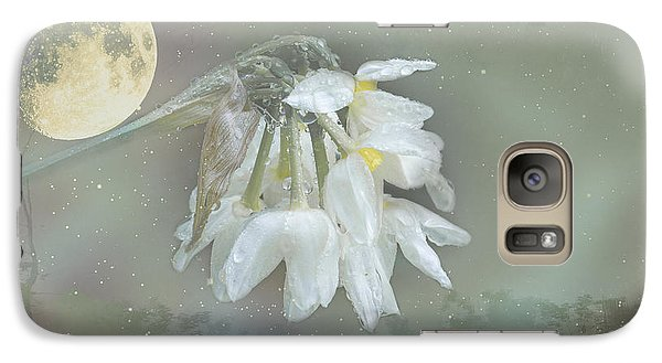 Galaxy Case featuring the photograph Blanche by Elaine Teague