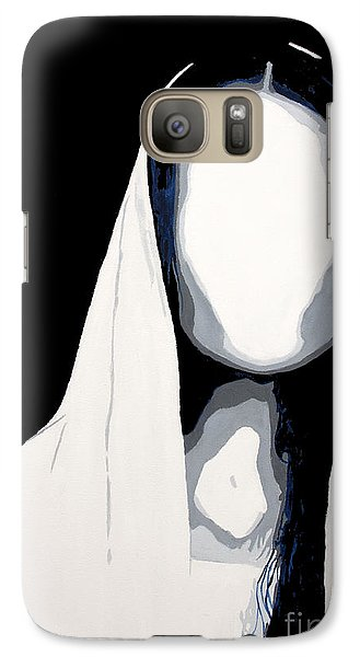 Galaxy Case featuring the painting Blank by Denise Deiloh