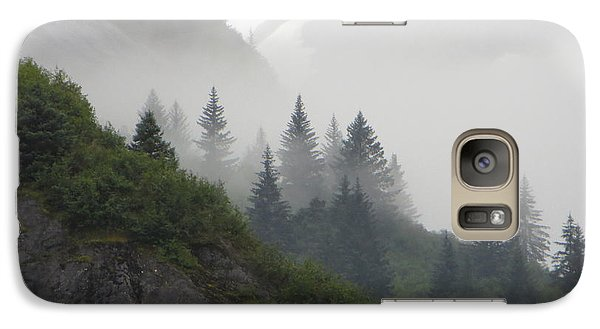 Galaxy Case featuring the photograph Blanket Of Fog by Jennifer Wheatley Wolf