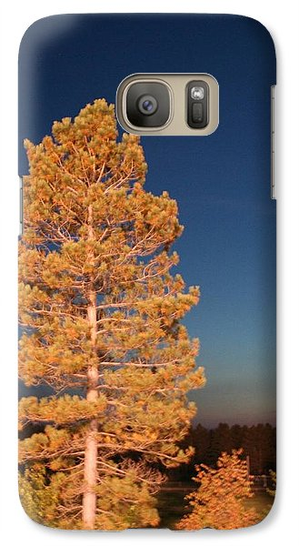 Galaxy Case featuring the photograph Blazing by Debra Kaye McKrill