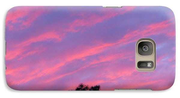 Galaxy Case featuring the photograph Blazing Pines by Joy Hardee